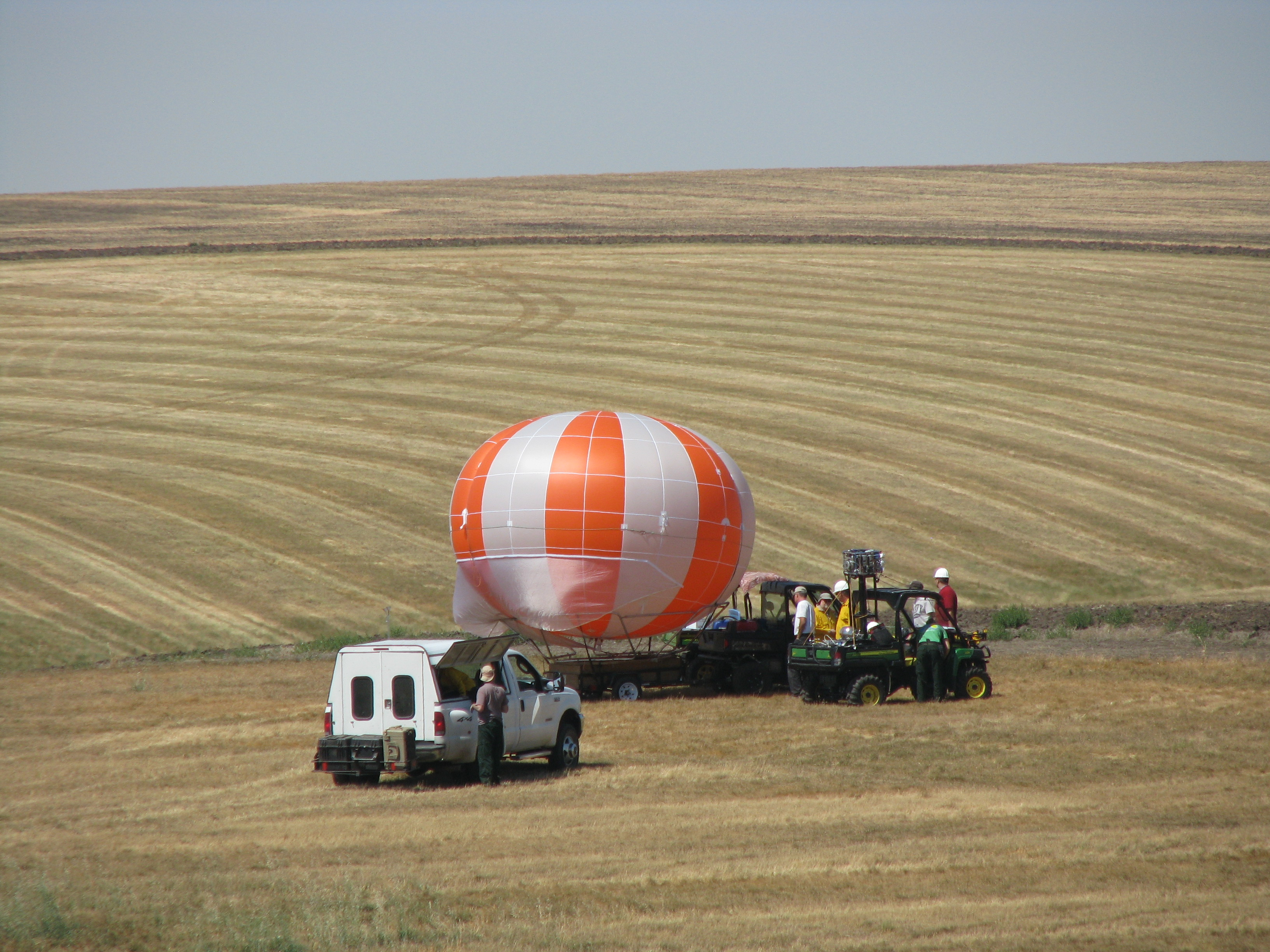 Task force research with EPA-ORD instrumented balloon