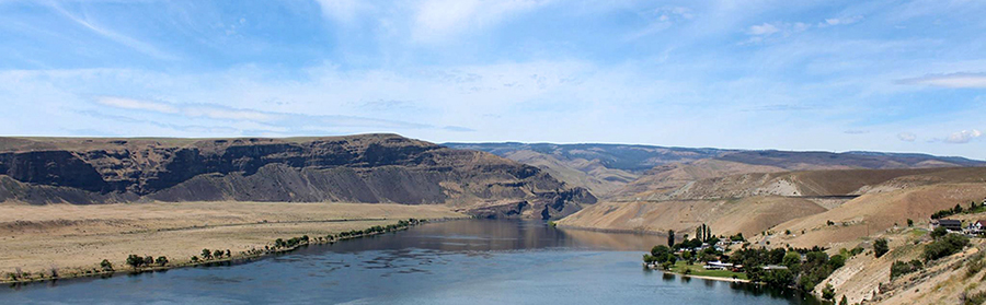 Columbia River near Crescent Bar, Grant County